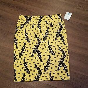 Lularoe cassie pencil skirt 2xl
